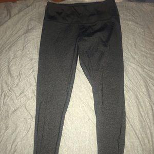 Heathered Dark Gray Leggings